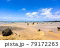 沖縄県宮古島、佐和田の浜・日本 79172263