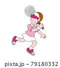 テニス少女 79180332