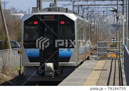 奥羽本線GV-E400(五能線→津軽線への送り込み列車) 79184750