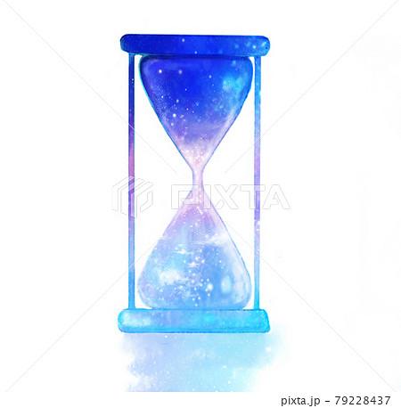 砂時計のイラスト 79228437