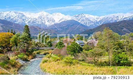 秋の白馬村(大出公園) 79230913