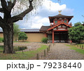 奈良市に広がる世界遺産の平城宮跡に復元された皇族らが儀式や宴会を行なったとされる東院庭園 79238440
