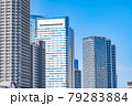 東京の都市風景 月島 朝潮大橋から勝どき方面の風景 79283884