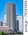 東京の都市風景 月島 朝潮大橋から勝どき方面の風景 79283888