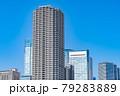 東京の都市風景 月島 朝潮大橋から勝どき方面の風景 79283889