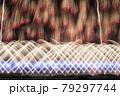 赤川花火大会の打ち上げ花火(ワイドスターマイン) 79297744