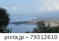 タオルミーナからシチリアの海岸風景 79312610