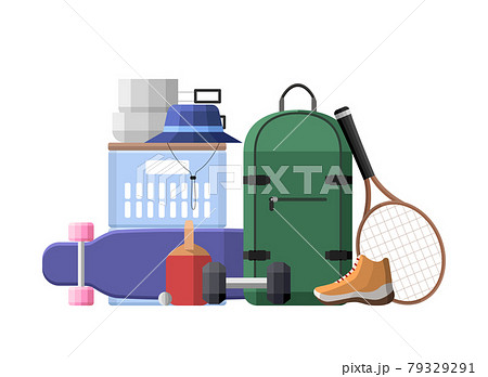 sports leisure objects vector illustration 79329291