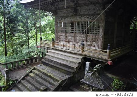 日本 群馬のパワースポット 榛名神社 夏の風景 79353872