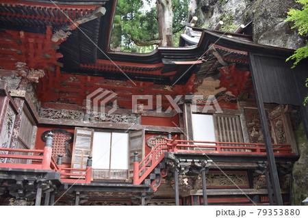 日本 群馬のパワースポット 榛名神社 夏の風景 79353880