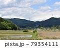 日本 群馬の水上 夏の風景 79354111