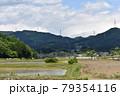 日本 群馬の水上 夏の風景 79354116
