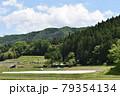 日本 群馬の水上 夏の風景 79354134