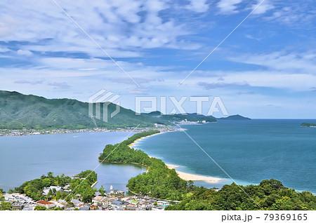京都府丹後半島にある日本三景のひとつ天橋立 79369165