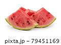 Watermelon on white 79451169