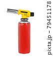 Gas can with manual torch burner 79451178