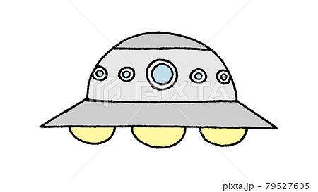 UFOのイラスト 79527605