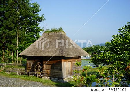 日本の原風景 遠野遺産山口の水車 79532101