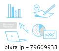 ビジネスアイコン ベクター素材 79609933