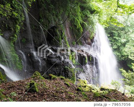 幻の滝「うそぐいの滝」 2021年6月 熊本県阿蘇郡高森町津留 79657056