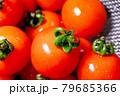 赤い新鮮なプチトマトのクローズアップ 79685366