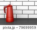 Red moka pot 79699959