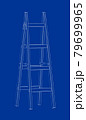 3d model of ladder 79699965