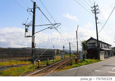 山陰本線「出雲市駅〜西出雲市駅の線路」 79700329
