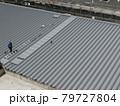 大型建築物には折板屋根が採用されます 79727804
