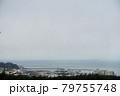 丘の方から見たサンフランシスコの海の見える景色 79755748