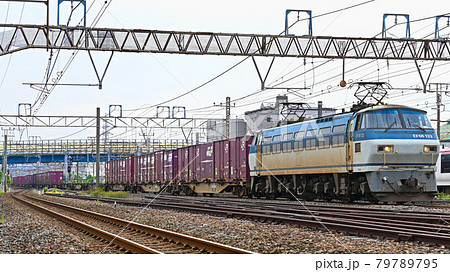快走の貨物列車 79789795