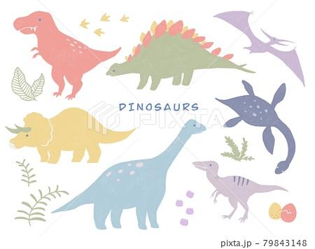 恐竜セット 79843148