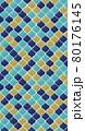 ランタンやモロッカンのタイルの絵具イラストイメージ 80176145