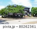 関原の森まちづくり記念館と公園広場の景観 東京都足立区にて 80262361