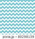 ギザギザ模様のシームレスパターン(ブルー、白) 80298139
