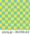 市松模様のシームレスパターン 80298142