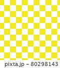 市松模様のシームレスパターン 80298143