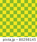 市松模様のシームレスパターン 80298145