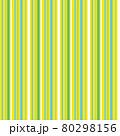 爽やかなストライプ柄(シームレスパターン) 80298156
