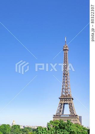 エッフェル塔 パリ フランス 80322307
