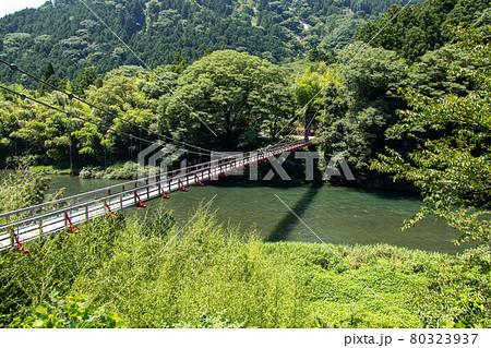恋のつり橋 宮山橋 80323937