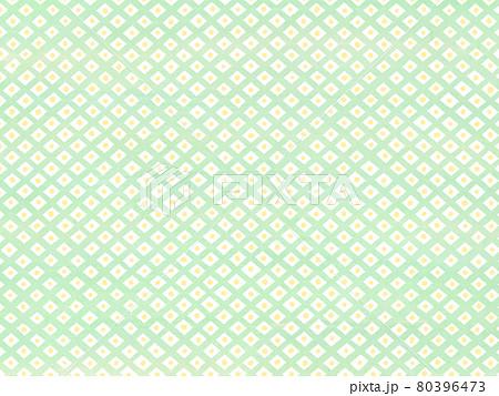鹿の子模様のアナログ背景 黄緑と黄色 80396473