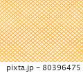 鹿の子模様のアナログ背景 オレンジ 80396475