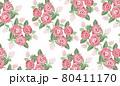 バラ パターン 白 80411170