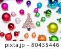 Colorful christmas lifestyle 80435446