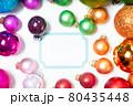 Colorful christmas lifestyle 80435448