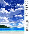 【縦長用】青空と雲08_山01_海08 80461690