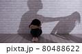 domestic violence concept 80488622