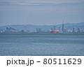 福岡市志賀島から福岡市の中心を望む 80511629