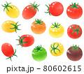 色々ミニトマト 80602615